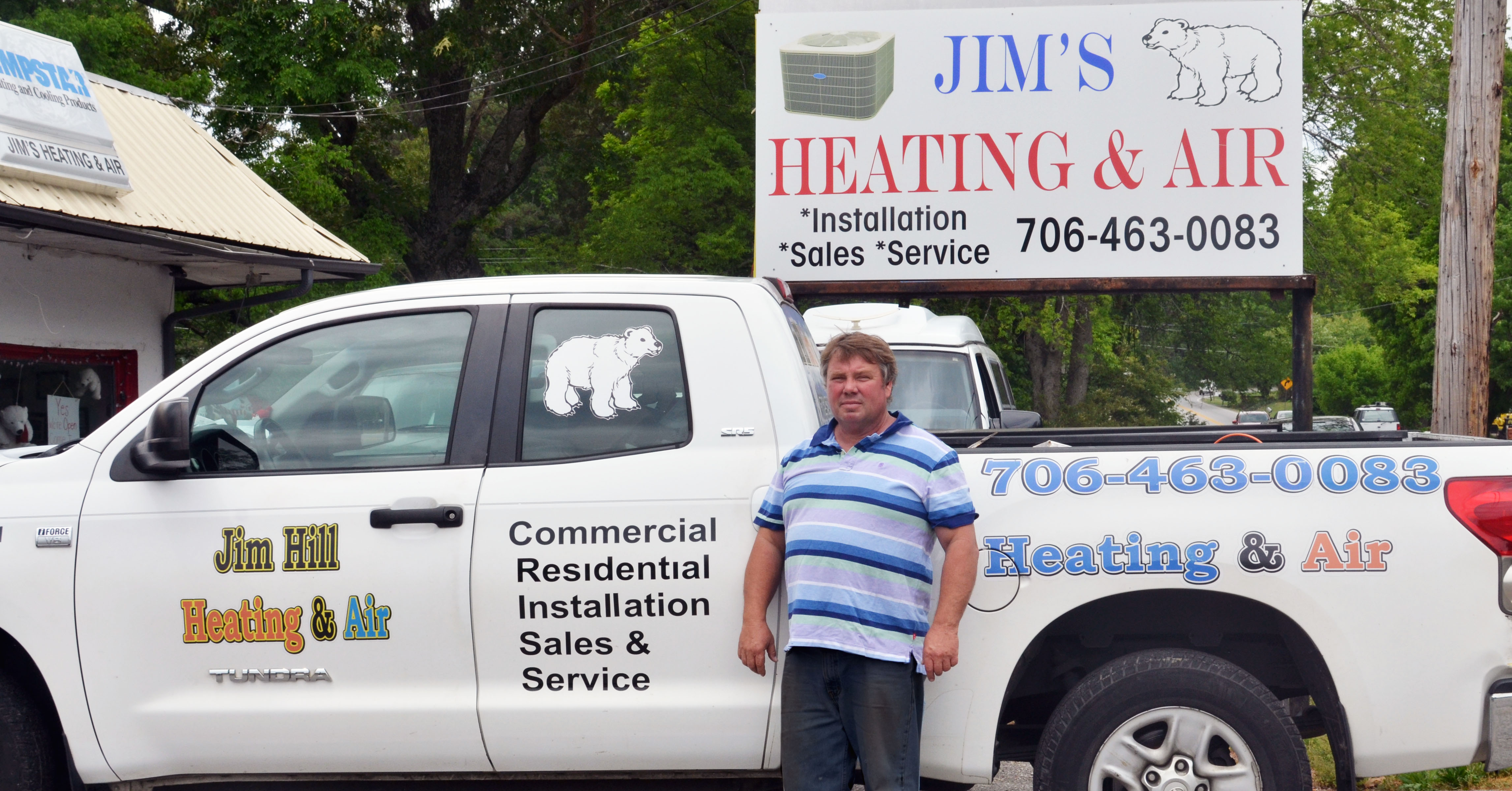 Jim Hill Heating & Air Ringgold Georgia also serves Chattanooga & East Ridge